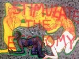 Sexuell explizites Kunstwerk von Vasan Sitthiket