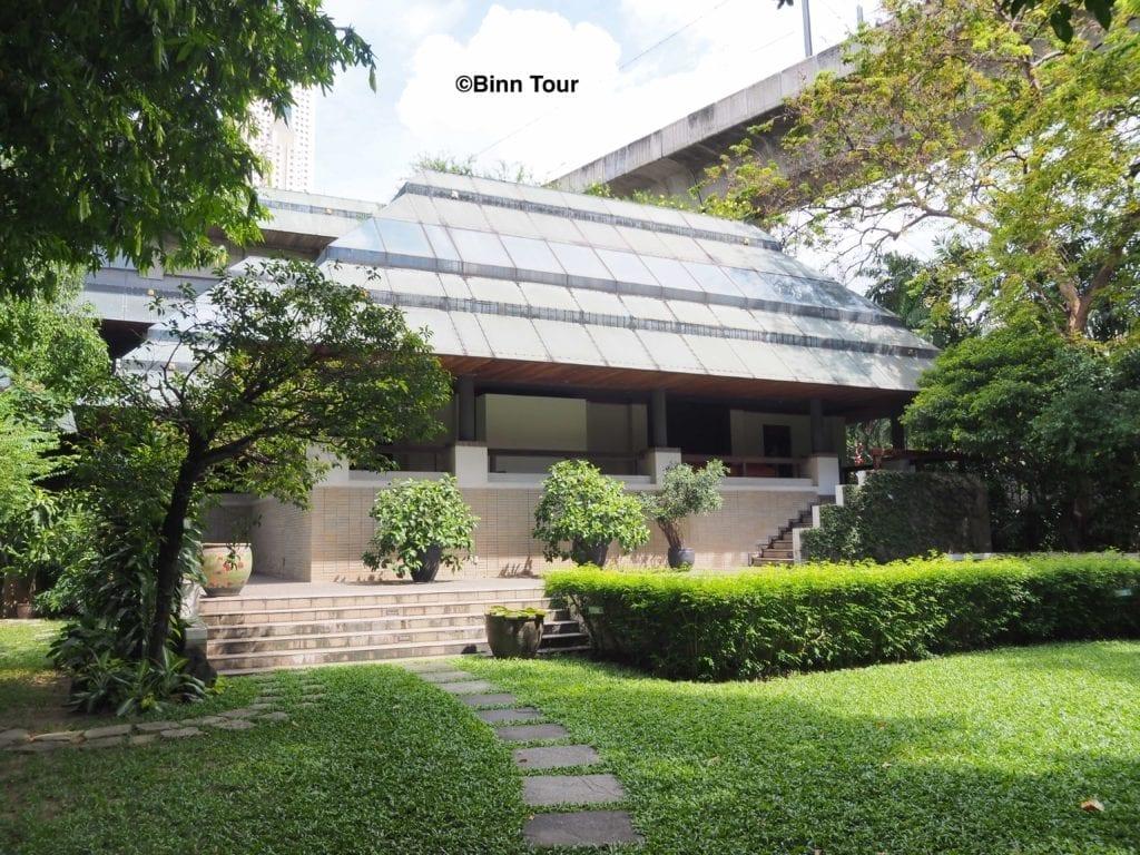 Exhibition house at Suan Pakkad Palace