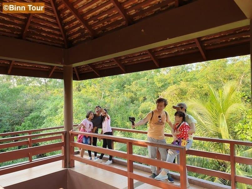View from a bird watching tower in Sri Nakhon Khuean Khan Park